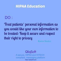 #HIPAA #EDUCATION