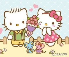 Sanrio: Hello Kitty and Dear Daniel:)