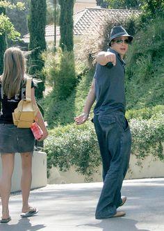 Jennifer Aniston and Brad Pitt Brad Pitt Jennifer Aniston, Brad Pitt And Jennifer, Jeniffer Aniston, Celebrity Couples, Hot Couples, Style And Grace, Celebs, Celebrities, Beautiful People