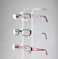 Glasses Frame Display : 1000+ images about Eyeglass Frame Supports on Pinterest ...