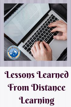 As difficult as distance learning was many lessons have been learned.