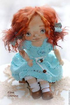 Текстильные куклы от Елены Симоновой.