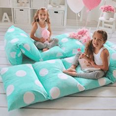 Butterfly Craze Girl's Floor Lounger Seats Cover and Pillow Cover Made of Super Soft, Luxurious Premium Plush Fabric - Perfect Reading and Watching TV Cushion - Great for SLEEPOVERS Slumber Parties. You provide the standard-or king-sized pillows. Girl Room, Girls Bedroom, Bedrooms, Bed Covers, Pillow Covers, Floor Pillows, Bed Pillows, Plush Pillow, Pillow Lounger