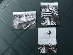 Vintage B&W photos of Rotterdam.Pack of ten.