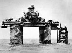 Image result for maunsell forts thames estuary