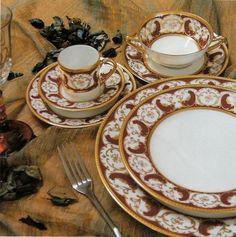 Luxury Dinner Ware | Robert Haviland and c. Parlon|Rose d'Orient|Luxury Dinnerware