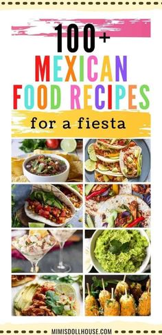 Mexican Fiesta Food, Mexican Dinner Party, Mexican Buffet, Mexican Menu, Dinner Party Menu, Mexican Food Recipes, Mexican Party Foods, Mexican Food Appetizers, Mexican Night