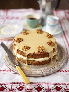 The best coffee & walnut cake