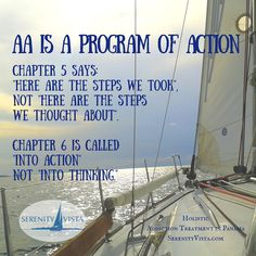 Do the work of the steps. You can have a fresh and exciting life free from addiction. Holistic - surprisingly affordable -international - 12 Step - fun activities - hard work! Rewards beyond belief. serenityvista.com drug rehab addiction treatment in Panama - Paradise
