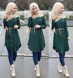 Hijab Source by SamiyaLioness outfit muslim Modern Hijab Fashion, Street Hijab Fashion, Hijab Fashion Inspiration, Islamic Fashion, Muslim Fashion, Modest Fashion, Girl Fashion, Fashion Outfits, Fashion Muslimah