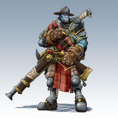 IKRPG Commission - Blaino17 by nfeyma.deviantart.com on @deviantART