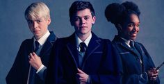 Scorpius, Albus, and Rose. Harry Potter Cursed Child, Harry Potter Fandom, Ernest Hemingway, Most Beautiful Man, Fandoms, Fictional Characters, Rose, Pink, Fantasy Characters