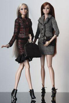 Poppy Parker in Chanel <3 Repaint by: Paula Tnt | WonderFelipe | Flickr