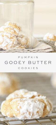 Easy Cookie Recipes, Pumpkin Recipes, Fall Recipes, Sweet Recipes, Baking Recipes, Dessert Recipes, Recipes Dinner, Kitchen Recipes, Just Desserts