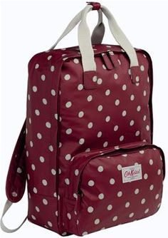 Our new backpacks are just the right size for carry-on luggage so perfect for travelling, or when you have a lot to carry and like your hands to be free. Completed in our durable matt oilcloth finish with handy grab handles and specially designed padded laptop pocket, great for people who are on the go.