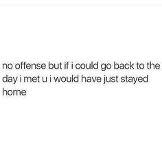 No offense but it's true. You kinda suck.