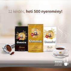 Nyereményjáték Termékminta Terméktesztelés: Összesen 3000 Omnia kávécsomagot sorsolnak! Barista, Coffee, Drinks, Bags, Food, Kaffee, Drinking, Handbags, Beverages