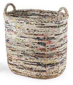 New diy paper crafts newspaper basket weaving ideas Korb Ideen Recycle Newspaper, Newspaper Basket, Newspaper Crafts, Newspaper Paper, Recycled Paper Crafts, Recycled Magazines, Diy Paper Crafts, Recycled Magazine Crafts, Paper Basket Weaving