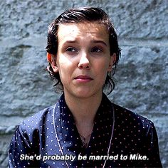 Millie on where she thinks Eleven would be in 10 years! Thos better be freaking true or I swear to god Watch Stranger Things, Old Actress, Millie Bobby Brown, Favorite Tv Shows, Movies And Tv Shows, Vogue Australia, Fangirl, It Cast, 10 Years