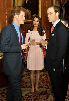Kate Middleton Pictures Drinking With William and Harry Photo 8