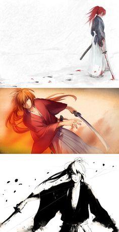 Himura Kenshin by janey-jane http://janey-jane.deviantart.com/art/Kenshin-137473392  and...