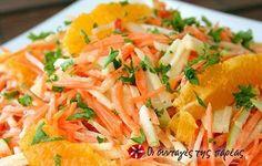 Λαχανοσαλάτα με πορτοκάλι #sintagespareas