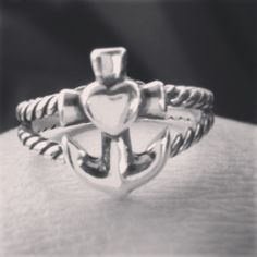 Faith, Hope & Love Twisted Rope Ring #jamesavery | instagram viewer