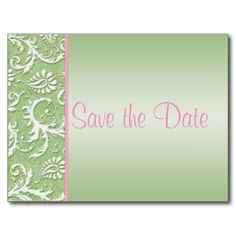 >>>Best          	Green and Pink Damask Save the Date Postcard           	Green and Pink Damask Save the Date Postcard so please read the important details before your purchasing anyway here is the best buyReview          	Green and Pink Damask Save the Date Postcard please follow the link to ...Cleck Hot Deals >>> http://www.zazzle.com/green_and_pink_damask_save_the_date_postcard-239620208315294247?rf=238627982471231924&zbar=1&tc=terrest
