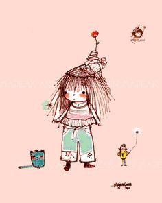 ♥ Lovely Pins ♥ // majeak ann illustration