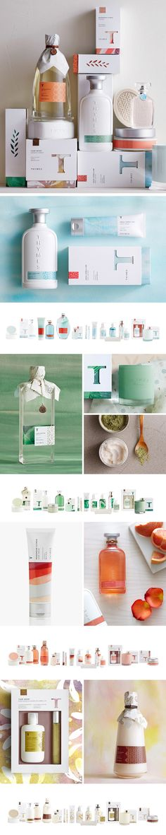 Thymes Studio Collection by Cue A Brand Design Company curated by Packaging Diva PD. Look at these great packaging assortments for Thymes fragrance collections. Skincare Packaging, Cosmetic Packaging, Beauty Packaging, Bottle Packaging, Brand Packaging, Packaging Inspiration, Web Design Mobile, Cosmetic Design, Label Design