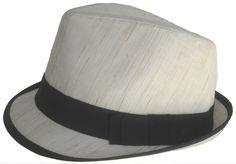 100% Linen Fedora Summer Stingy Brim Trilby Golf Hat 93b010ac515f