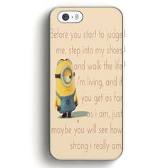 Despicable Minions Funny Quotes iPhone 5|5S Case | Aneend