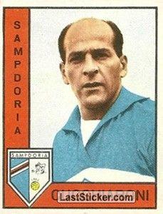 SAMPDORIA FIGURINA CALCIATORI PANINI 1962//63 MAESTRI