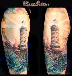 Lighthouse tattoo #tattoo #tattoos