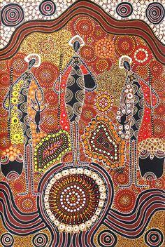 Aboriginal Art Animals, Aboriginal Symbols, Aboriginal Patterns, Aboriginal Dot Painting, Aboriginal Culture, Arte Tribal, Australian Art, Indigenous Art, Native Art