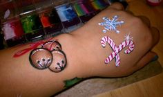 bells, candy canes, snowflake
