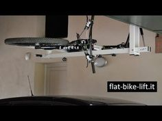 Flat-bike-lift Or How to Park Your Bicycle On The Ceiling [Video] - Freshome.com