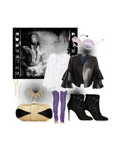 """""""Let Purple Reign #2"""" by swimsmommy ❤ liked on Polyvore featuring MET, MANGO, Alexander McQueen, Dolce&Gabbana, Alexis Bittar, Christian Louboutin, Wouters & Hendrix Gold, Miu Miu, prince and memorial"""