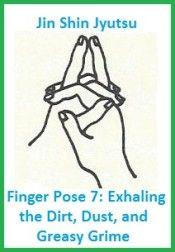 finger pose 7 exhaling the dirt dust and grime. balancedwomensblog.com