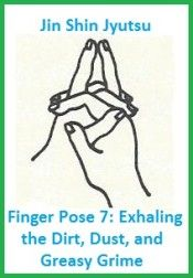 finger pose 7 exhaling the dirt dust and grime. balancedwomensblog.com
