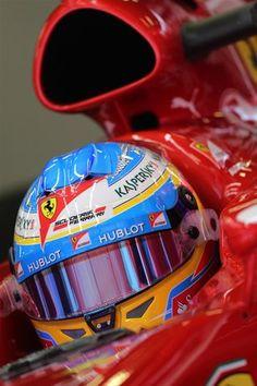 Fernando Alonso (ESP) Ferrari F138.  Formula One Testing, Day 1, Barcelona, Spain, Tuesday, 19 February 2013