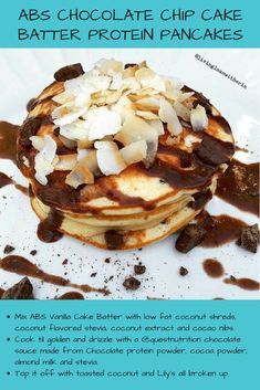 Make these Chip Batter Cake Batter Protein, Protein Waffles, Chocolate Chip Cake, Chocolate Protein Powder, Waffle Recipes, Delicious Chocolate, Vanilla Cake, Abs, Gluten Free