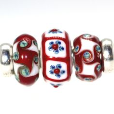 Trollbeads Gallery - Trio of beads! Brand new design in the middle! http://www.trollbeadsgallery.com/twins-trios-232/