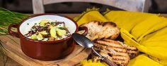 Bryndzová polievka s cibuľkou
