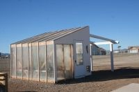 Starting, building and maintaining a greenhouse can be very intimidating for those first venturing into greenhouse gardening. Build A Greenhouse, Greenhouse Gardening, Greenhouse Construction, Desert Homes, Backyard, Patio, Hobby Farms, Small Farm, The Ranch