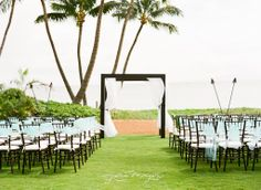 Beautiful Ceremony Site At Sugar Beach Maui Wedding Venue Sandra Author A