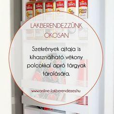 További tippek és trükkök a http://ift.tt/2rzJeuh oldalon. #LakberendezzunkOkosan #lakberendezes #szekreny #dekoracio #szekrenyajto #lakberendezo