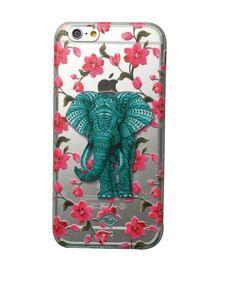 Regalos que encantan: .Carcasa para celular Myto Elefante y Flores en Acrigel en Dekosas.