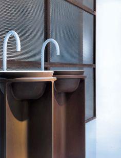 CONTROSTAMPO washbasin by @falperdesign