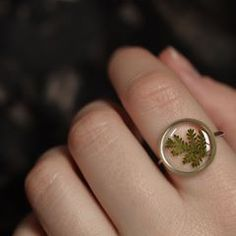 In addition to those gold hexagon fern rings I posted a few days ago, I'll have these sterling silver basic circle fern rings AND the oval rings as well. Lots of choices for fern rings! :) Shop update April at CST Resin Ring, Resin Necklace, Resin Jewelry, Jewelry Crafts, Silver Jewelry, Diy Uv Resin, Resin Crafts, Resin Art, Resin Flowers